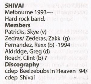 Shivai - Bio